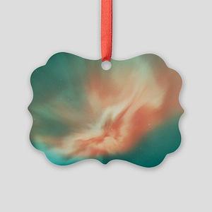 A spectacular aurora borealis dis Picture Ornament