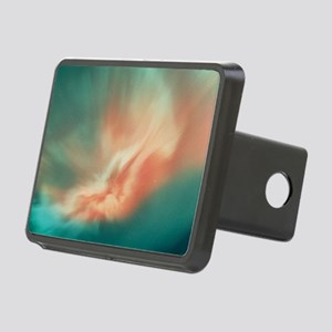 A spectacular aurora borea Rectangular Hitch Cover