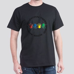 OT CIRCLE HANDS 2 Dark T-Shirt
