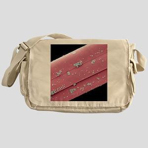 Antimicrobial wound dressing, SEM Messenger Bag