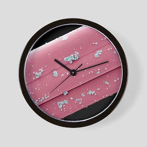 Antimicrobial wound dressing, SEM Wall Clock