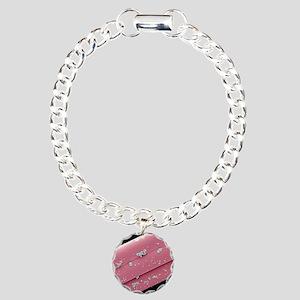 Antimicrobial wound dres Charm Bracelet, One Charm