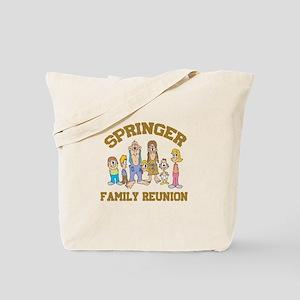 Springer Hillbilly Family Reunion Tote Bag
