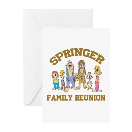 Springer Hillbilly Family Reunion Greeting Cards (