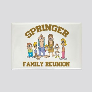 Springer Hillbilly Family Reunion Rectangle Magnet