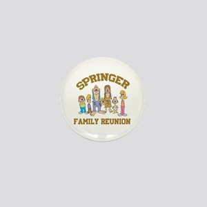 Springer Hillbilly Family Reunion Mini Button