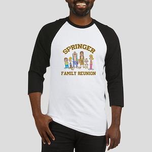 Springer Hillbilly Family Reunion Baseball Jersey