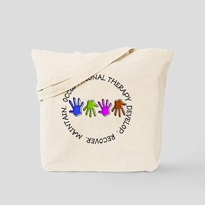 OT CIRCLE Hands Tote Bag