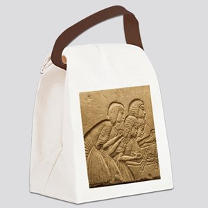 Ancient Egyptian Scribes Canvas Lunch Bag