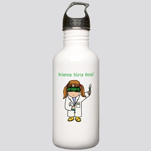 Science Girls Rock Stainless Water Bottle 1.0L