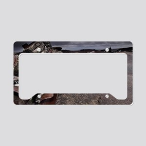 Aircraft wreckage License Plate Holder