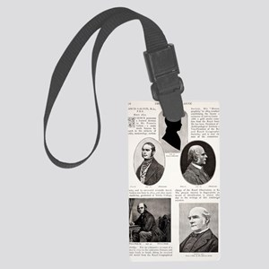 1897 Francis Galton British Euge Large Luggage Tag