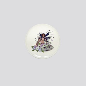 VIOLA Teacup Fairy Mini Button