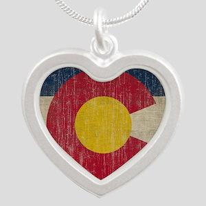 Vintage Silver Heart Necklace