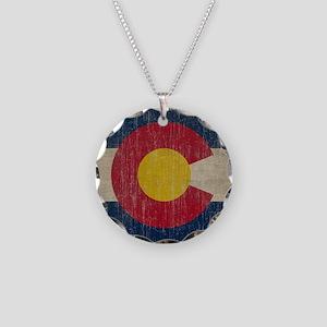 Vintage Necklace Circle Charm