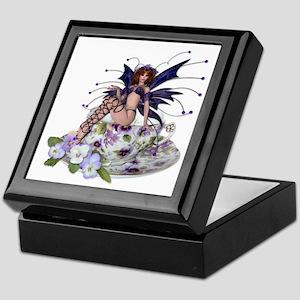 VIOLA Teacup Fairy Keepsake Box