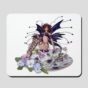 VIOLA Teacup Fairy Mousepad
