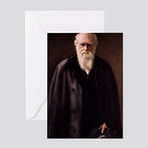 1881 Charles Darwin Portrait aftr Co Greeting Card