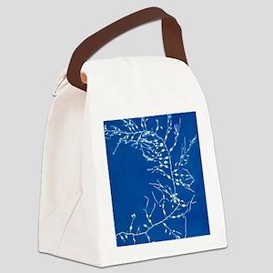 19th-century alga cyanotype Canvas Lunch Bag