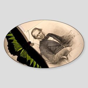 1855 Wallace Sticker (Oval)