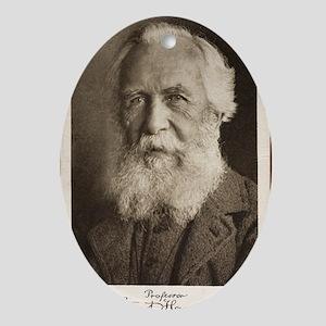1910 Ernst Haeckel Photographic Port Oval Ornament