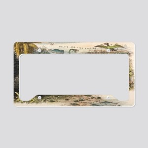 1849 The antidiluvian world c License Plate Holder