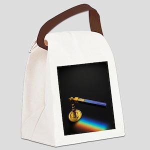 19th Century Flint Glass Prism Canvas Lunch Bag