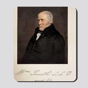 1838 William Smith father of UK Geology Mousepad