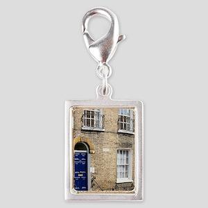 1836 Charles Darwin's House  Silver Portrait Charm