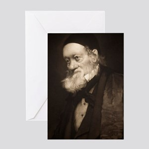 1889 Sir Richard Owen portrait old a Greeting Card