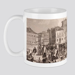 1832 Brazil slaves, Darwin on the Beagl Mug