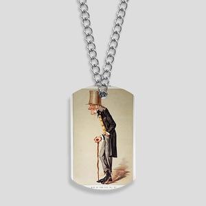 1873 Richard Owen 'Old bones' Vanity Fair Dog Tags