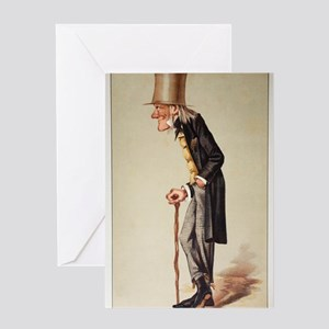 1873 Richard Owen 'Old bones' Vanity Greeting Card