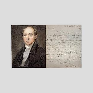 1819 Sir Everard Home icthyosaur le 3'x5' Area Rug