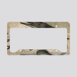 1862 Hawkin's Icthyosaur License Plate Holder
