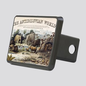 1849 The antidiluvian worl Rectangular Hitch Cover