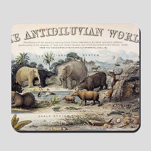 1849 The antidiluvian world crop Jurassi Mousepad