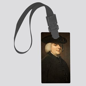 1789 William Paley Portrait natu Large Luggage Tag
