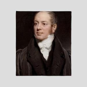 1833 Reverend William Buckland portr Throw Blanket
