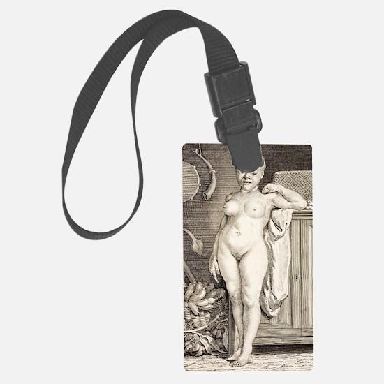 1777 Buffon Albino African Ameri Luggage Tag