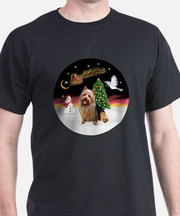R-NightFlight-AussieTerrier1 T-Shirt