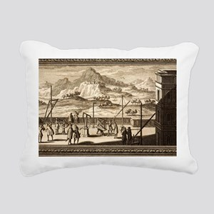 1731 Johann Scheuchzer t Rectangular Canvas Pillow