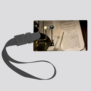 1802 William Paley Watch on the  Large Luggage Tag