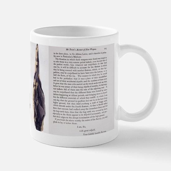 1797 First Handaxe John Frere of Hoxne  Mug