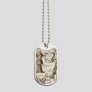 1662 Schott Sea Monsters and mermaids Dog Tags