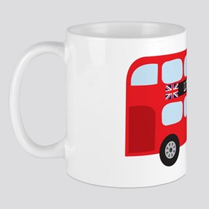 London Double-Decker Bus Mug