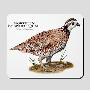 Northern Bobwhite Quail Mousepad