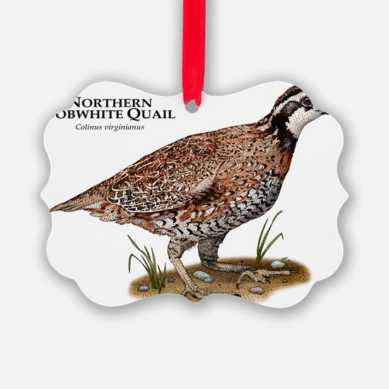Northern Bobwhite Quail Ornament