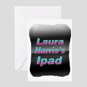 Laura Harriss Ipad Greeting Card