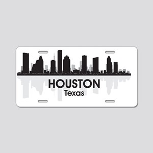 Houston Aluminum License Plate